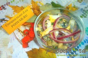 Салат из селёдки и яиц Изображение