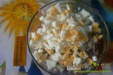 Салат из селёдки и яиц Шаг 6 (картинка)