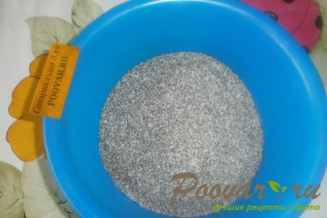 Пирог из рулетов с маком Шаг 2 (картинка)