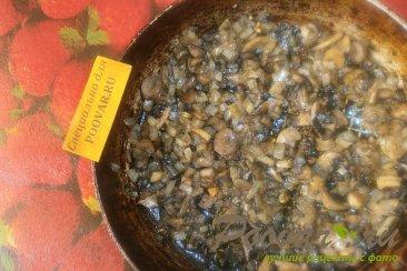 Куриные котлеты с грибами и луком Шаг 9 (картинка)