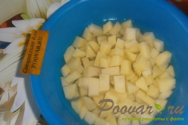 Суп с пшеном и солёными помидорами Шаг 2 (картинка)