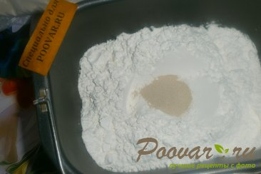 Лепёшки с моцареллой и грибами Шаг 2 (картинка)