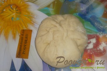 Лепёшки с моцареллой и грибами Шаг 11 (картинка)