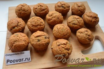 Карамельные кексы с черникой Шаг 12 (картинка)