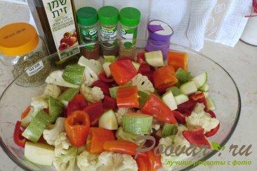Куриная печень в духовке с овощами Шаг 2 (картинка)