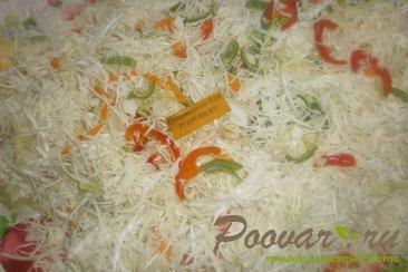 Маринованная капуста с перцем и луком на зиму Шаг 6 (картинка)
