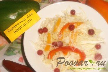 Маринованная капуста с перцем и луком на зиму Шаг 11 (картинка)
