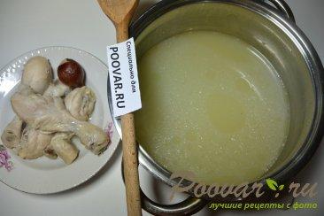 Куриный суп с сырными клецками Шаг 1 (картинка)