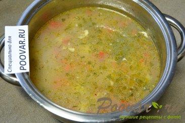 Куриный суп с сырными клецками Шаг 12 (картинка)
