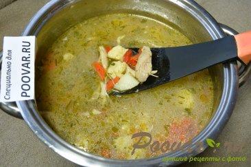 Куриный суп с сырными клецками Шаг 13 (картинка)