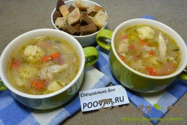 Куриный суп с сырными клецками Шаг 14 (картинка)