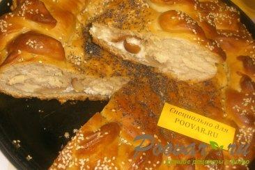 Пирог с грушей и творогом из дрожжевого теста Шаг 15 (картинка)