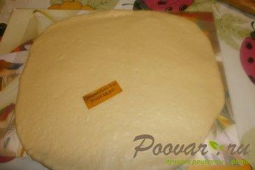 Пирог с грушей и творогом из дрожжевого теста Шаг 8 (картинка)