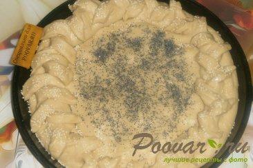 Пирог с грушей и творогом из дрожжевого теста Шаг 13 (картинка)