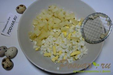 Салат из рыбных консервов с картофелем и яйцом Шаг 1 (картинка)