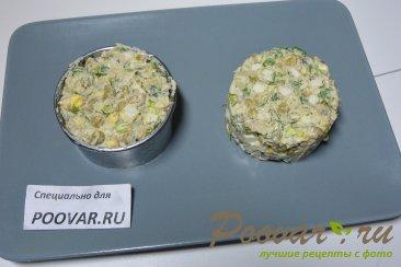 Салат из рыбных консервов с картофелем и яйцом Шаг 6 (картинка)