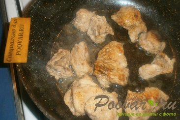 Индейка с грибами Шаг 5 (картинка)