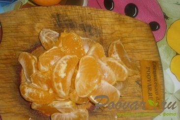 Пирог с яблоками и мандаринами Шаг 5 (картинка)