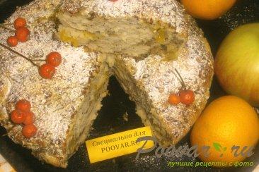 Пирог с яблоками и мандаринами Шаг 16 (картинка)
