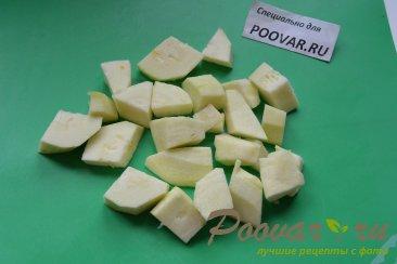 Суп-пюре из тыквы и кольраби Шаг 2 (картинка)