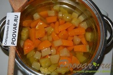 Суп-пюре из тыквы и кольраби Шаг 3 (картинка)