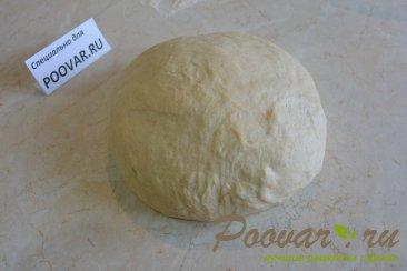 Пирожки с творогом и сыром из дрожжевого теста Шаг 4 (картинка)
