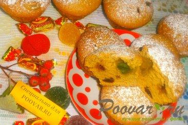 Карамельные кексы с сухофруктами и мармеладом Шаг 17 (картинка)