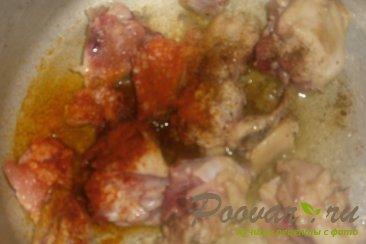 Рис с курицей и вялеными помидорами Шаг 4 (картинка)