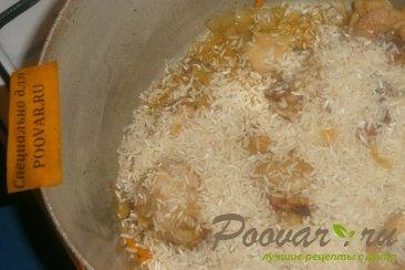 Рис с курицей и вялеными помидорами Шаг 8 (картинка)
