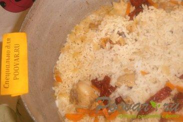 Рис с курицей и вялеными помидорами Шаг 12 (картинка)