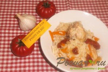 Рис с курицей и вялеными помидорами Шаг 13 (картинка)