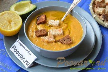 Суп-пюре из брокколи и цветной капусты Изображение
