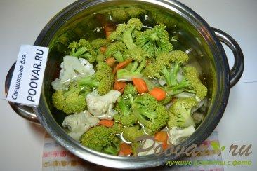 Суп-пюре из брокколи и цветной капусты Шаг 2 (картинка)