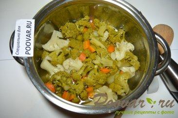 Суп-пюре из брокколи и цветной капусты Шаг 6 (картинка)