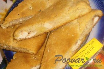 Пирог с картофелем и курицей Изображение