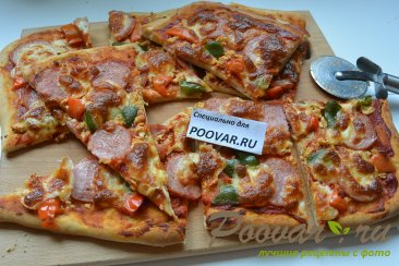 Простая пицца по-домашнему Изображение