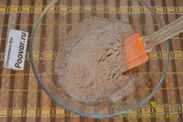 Шоколадный торт с шоколадным кремом и вишней Шаг 1 (картинка)