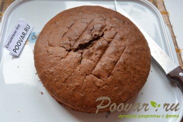 Шоколадный торт с шоколадным кремом и вишней Шаг 10 (картинка)