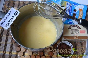 Шоколадный торт с шоколадным кремом и вишней Шаг 11 (картинка)
