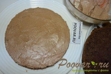 Шоколадный торт с шоколадным кремом и вишней Шаг 15 (картинка)