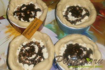 Мини - пироги из теста на майонезе Шаг 12 (картинка)