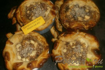 Мини - пироги из теста на майонезе Шаг 14 (картинка)