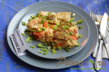 Запеканка из брокколи и цветной капусты Изображение