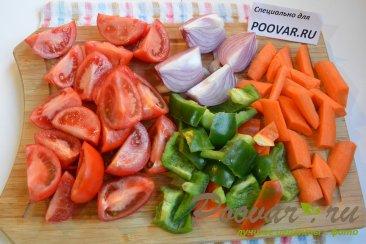 Запеканка из брокколи и цветной капусты Шаг 2 (картинка)