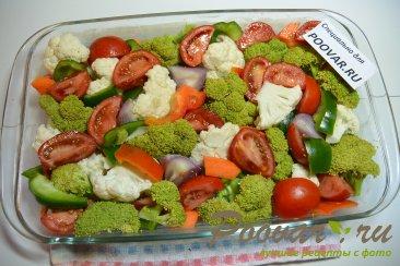Запеканка из брокколи и цветной капусты Шаг 3 (картинка)