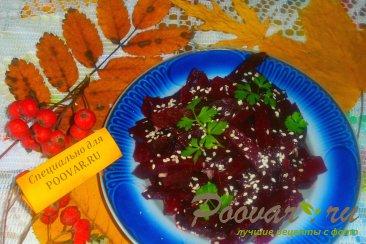 Салат из свеклы с хреном Шаг 4 (картинка)