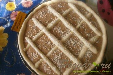 Пирог с шоколадно-тыквенным пюре Шаг 17 (картинка)