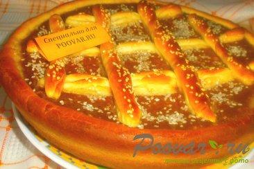 Пирог с шоколадно-тыквенным пюре Шаг 19 (картинка)