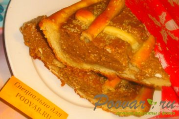 Пирог с шоколадно-тыквенным пюре Шаг 20 (картинка)