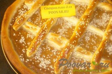 Пирог с шоколадно-тыквенным пюре Шаг 18 (картинка)